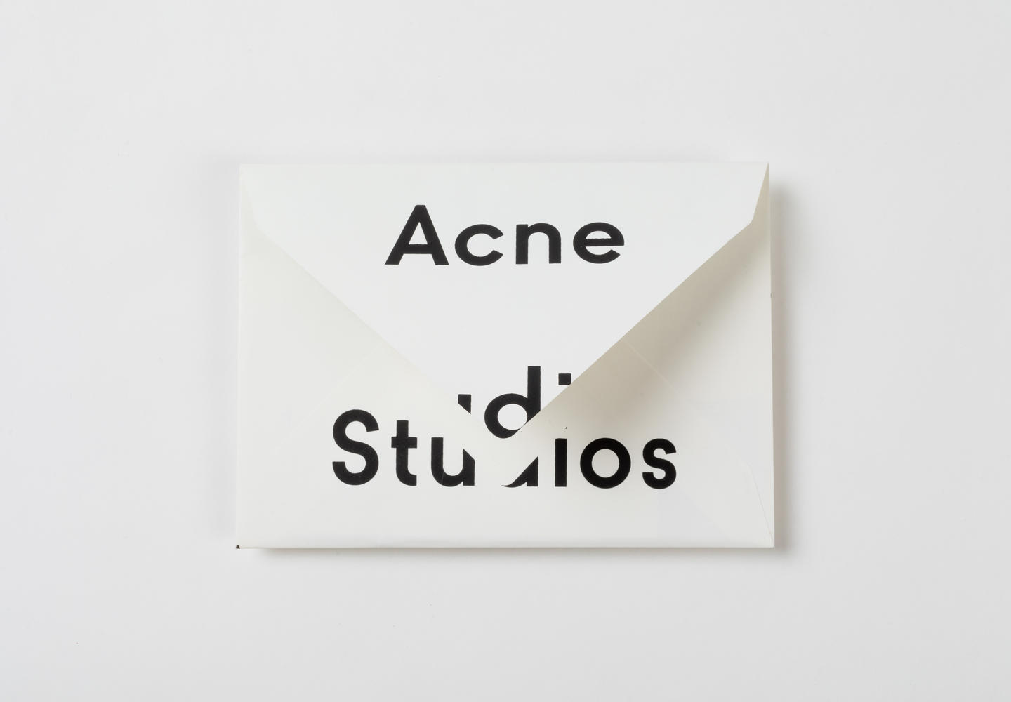 Invitation Acne Studios FW17